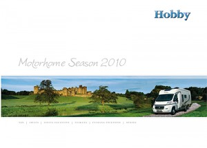 2010 Hobby motorhome brochure
