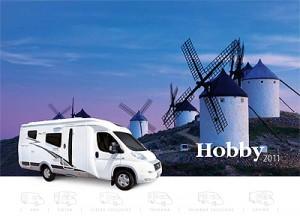 2011 Hobby motorhome brochure