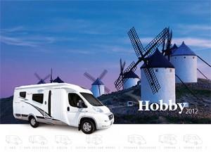 2012 Hobby motorhome brochure