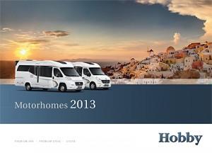 2013 Hobby motorhome brochure