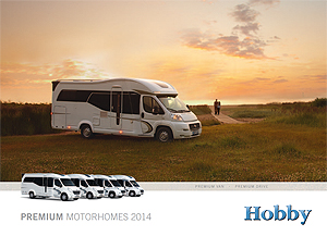 2014 Hobby motorhome brochure