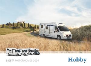 2014 Hobby Siesta Range Brochure