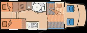Hobby Siesta Hubbett T70 HGE