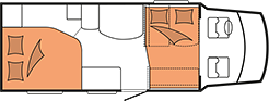 Hobby Siesta Hubbett T70 HGQ