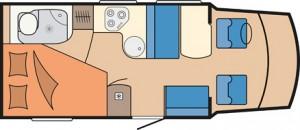 Hobby Siesta T60 FL day layout