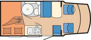 Hobby Siesta Van V60 GF day layout