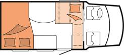 Hobby Siesta Van V60 GF night layout