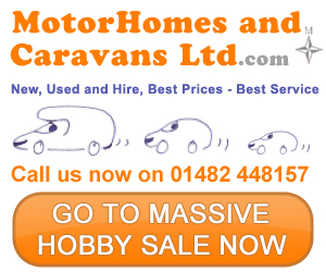 Motorhomes Ltd Massive Hobby Sale